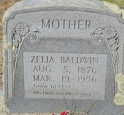 Virginia Roselia Zelia <i>Johnson</i> Baldwin