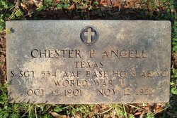 Sgt Chester P Angell