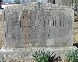 Mary Alice <i>Bullard</i> Alexander