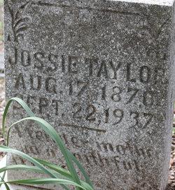 Mary Josephine Josie <i>Jones</i> Taylor
