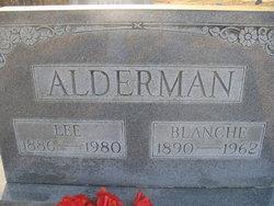 Blance <i>Sampels</i> Alderman
