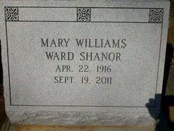 Mary Williams <i>Ward</i> Shanor