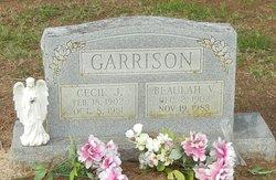 Cecil James Garrison