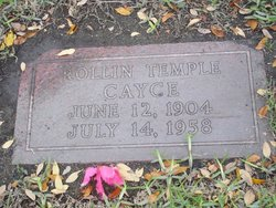 Rollin Temple Cayce