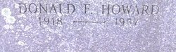 Donald Frank Howard, Sr
