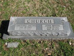 Estelle <i>Jacobs</i> Church