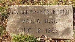 Ada Lee <i>Francis</i> Kerlin