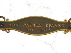 Ada Myrtle Bryant