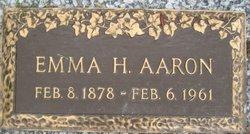 Emma H Aaron