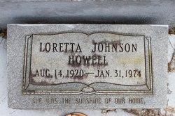 Loretta <i>Johnson</i> Howell