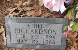 Ethel <i>Ward</i> Richardson