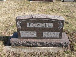 Harold Robert Bob Powell
