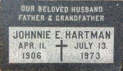 John Edwin Johnnie Hartman