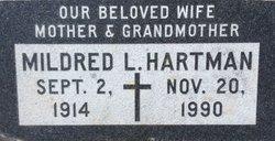 Mildred Lucille <i>Harris</i> Hartman