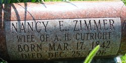 Nancy Elizabeth <i>Zimmers</i> Cutright