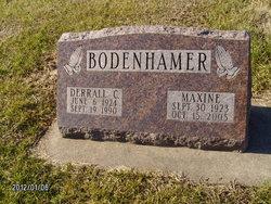 Maxine <i>Carson</i> Bodenhamer