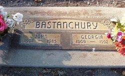 Georgia Dee <i>Peoples</i> Bastanchury