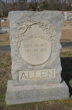 Julius L Allen