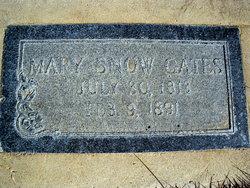 Mary Minvera Millie <i>Snow</i> Gates
