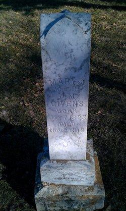 Mary Jane <i>Wilson</i> Givens