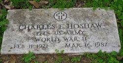 Charles Edward Hoshaw