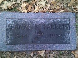 Jeanne Marie <i>Secord</i> Barrett