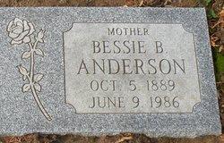 Bessie <i>Botkin</i> Anderson
