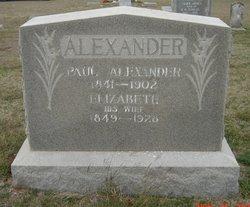 Josephine Elizabeth <i>Coats</i> Alexander