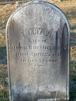 Mary Burton <i>Knight</i> Burlingame