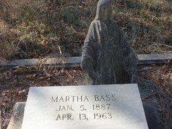 Martha Mattie <i>Clark</i> Bass