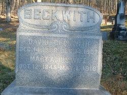 Mary Ann <i>Harr</i> Beckwith