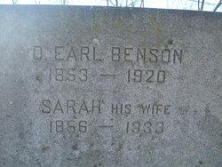 David Earl Benson