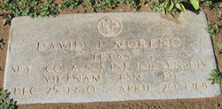 PFC David J Moreno