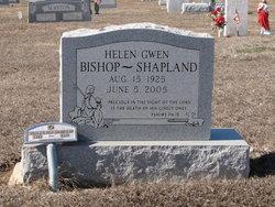 Helen Gwendolyn <i>Bishop</i> Shapland