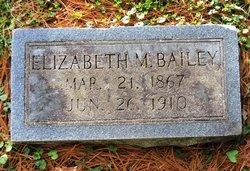 Margaret Elizabeth Lizzie <i>Morley</i> Bailey