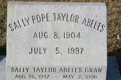 Sally Pope <i>Taylor</i> Abeles