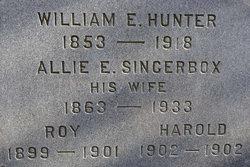 Alueretta E Allie <i>Sincerbox</i> Hunter