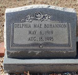 Delphia Mae <i>Bass</i> Bohannon
