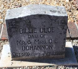 Billie Cloe Bohannon
