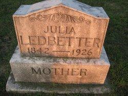 Julia Anna <i>Bower</i> Ledbetter