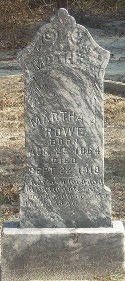 Martha Alice <i>Bailey</i> Rowe