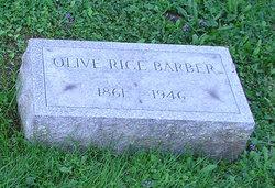 Olive Rice <i>Kellogg</i> Barber