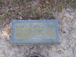 Alice <i>Knight</i> Campbell