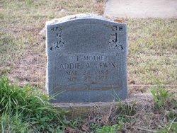 Addie W. Lewis