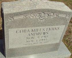 Cora Mills <i>Evans</i> Andrews