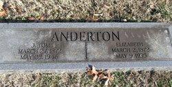 Hannah Elizabeth Lizzie <i>Smith</i> Anderton