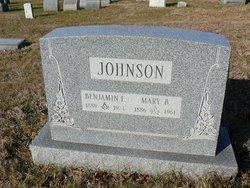 Benjamin E. Johnson