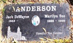 Marilyn Sue <i>Smith</i> Anderson