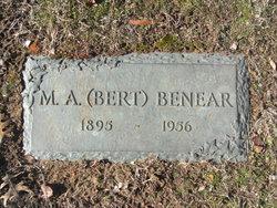 Marion Albert Bert Benear