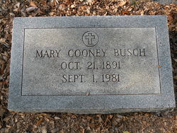 Mary <i>Cooney</i> Busch